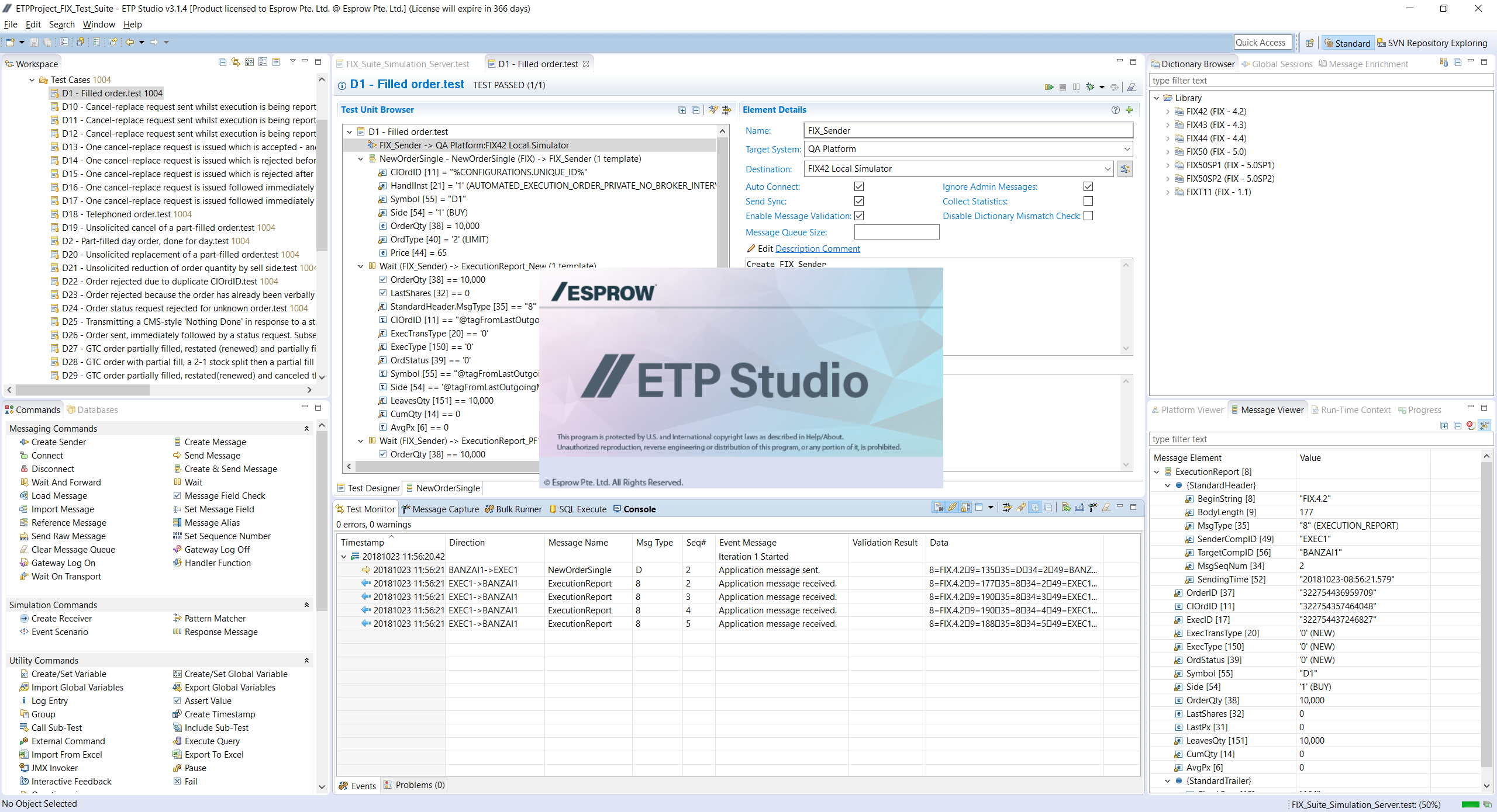 Esprow ETP - Studio for FIX